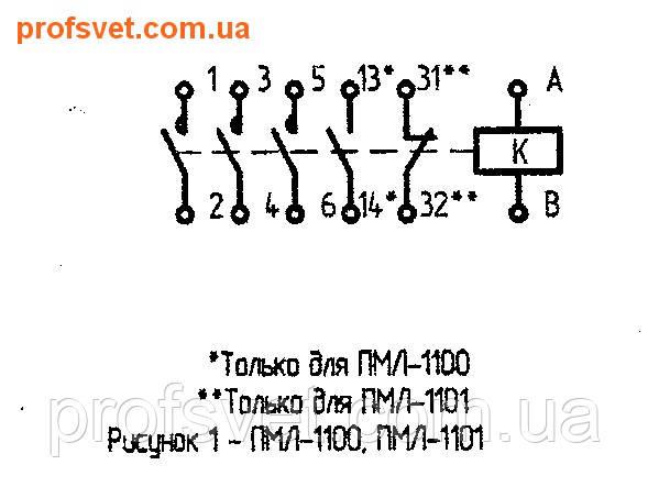 сканирование электрическая схема подключения пмл-1100 10-a