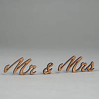 """Заготовка для скрапбукинга """"Mr&Mrs"""""""