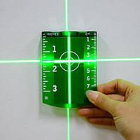 Мішень магнітна для зеленого лазерного променя рівня (нівеліра), фото 1