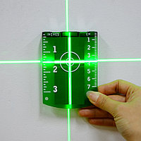 Мишень магнитная для зелёного лазерного луча уровня (нивелира), фото 1