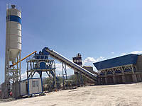 Бетонный завод производительность 100м3