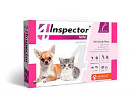 Инспектор Мини капли для собак и кошек весом 0.5 - 2 кг, 1 пипетка