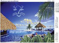 Схема для вышивки бисером Райское наслаждение