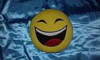 """Подушка смайл Emoji 35 см """"Смеющийся"""""""