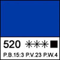 Краска акриловая Сонет синяя светлая 75мл ЗХК