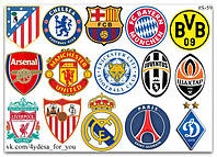 Stickers Pack Football Clubs, Футбольные Клубы #59