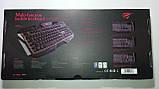 Клавиатура с цветной подсветкой мультимедийная HAVIT HV-KB406L, USB, фото 8