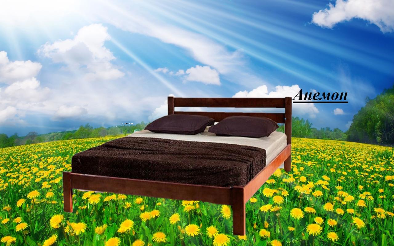 Кровать двухспальная Анемон