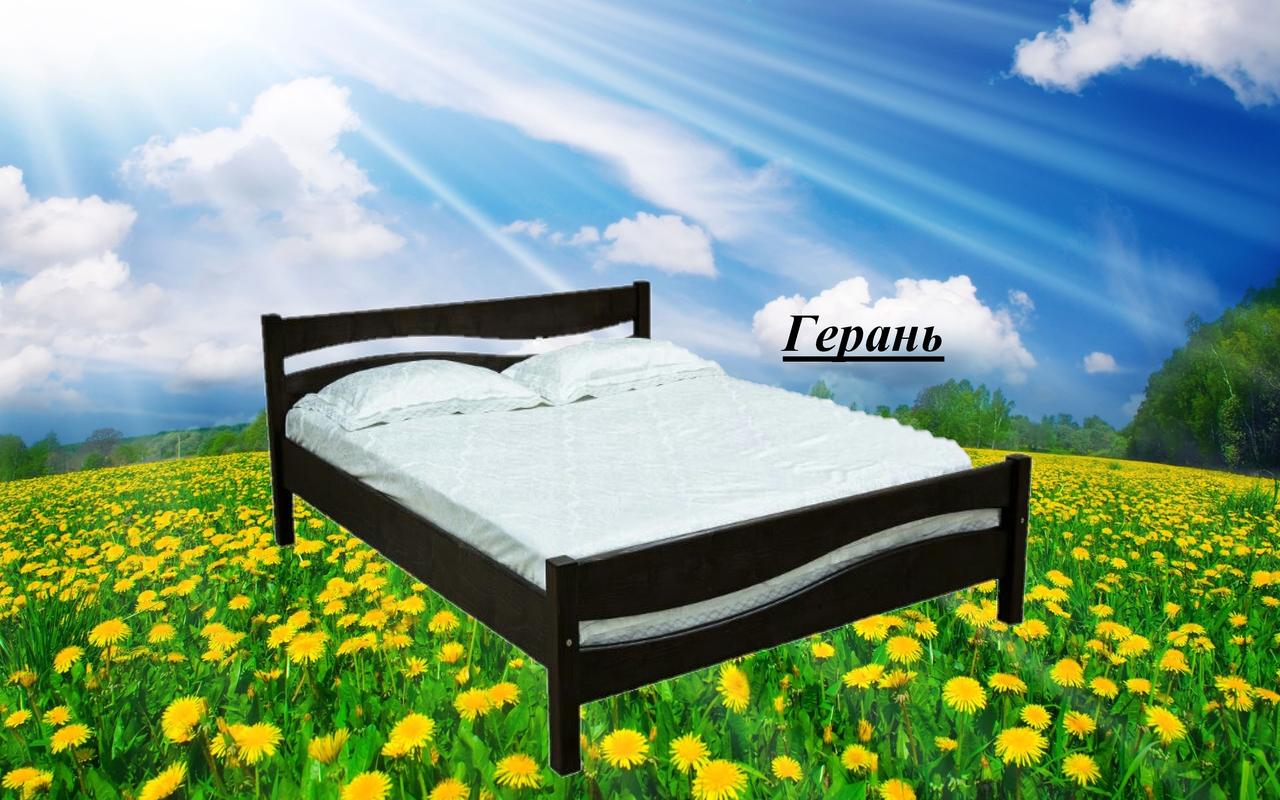 Ліжко двоспальне Герань