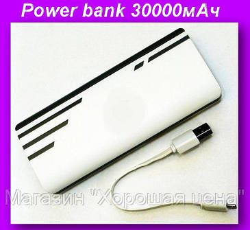 Внешний аккумулятор (power bank) 30000мАч (6000мАч) , фото 2