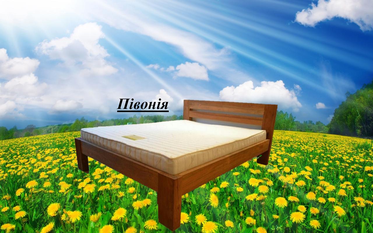 Кровать двухспальная Півонія