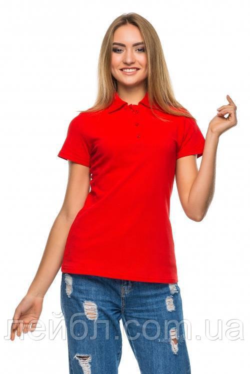 6a5f55f4b58a2 Женская футболка-Поло с коротким рукавом - коралловый, цена 245,10 грн.,  купить Мирноград — Prom.ua (ID#635288585)