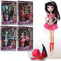 Кукла Monster High Монстр Хай 006 с аксессуарами, 5 видов: размер 27см, шарнирная