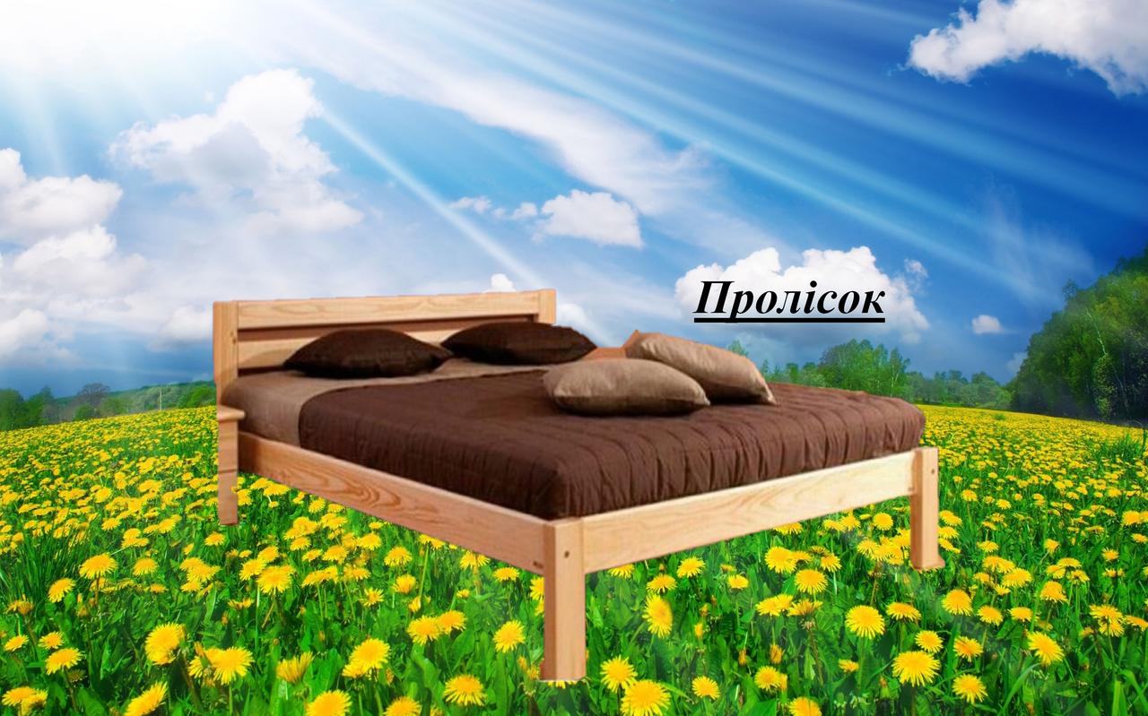 Кровать двухспальная Пролісок