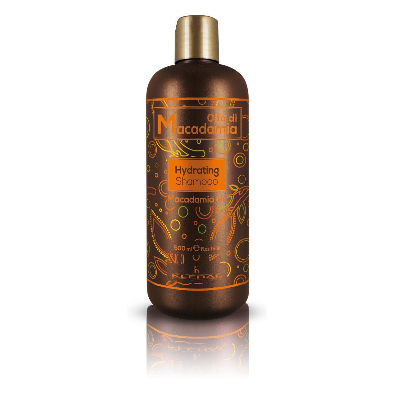 Увлажняющий шампунь с маслом макадамии Kleral System Macadamia Hydrating Shampoo, 500 мл