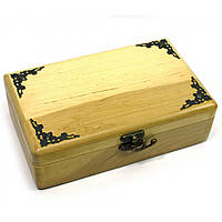 Шкатулка деревянная с декором