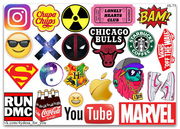 Stickers Pack #75
