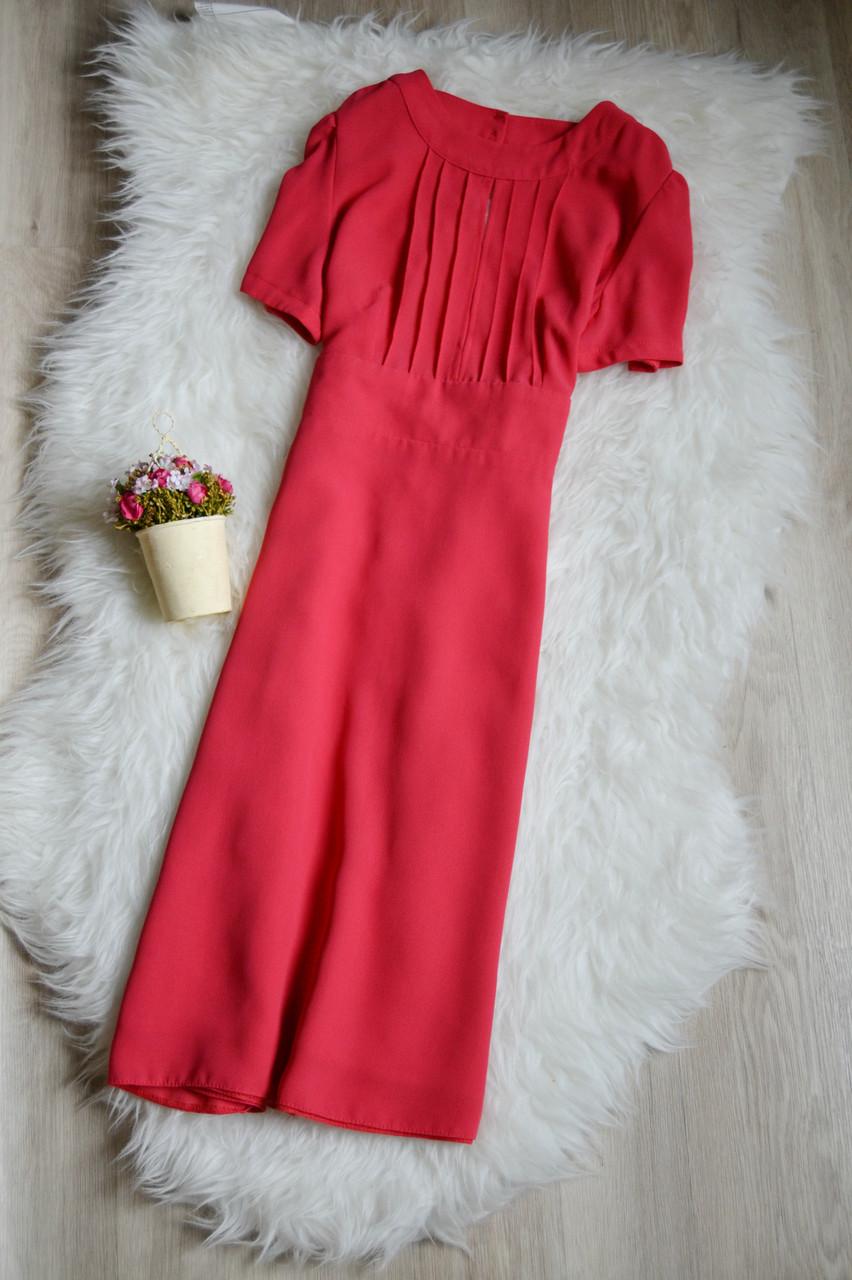 Платье кораллового цвета Topshop