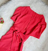Платье кораллового цвета Topshop, фото 2