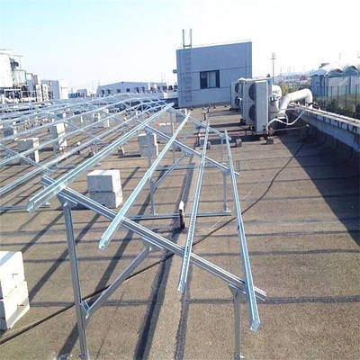 Системы крепления солнечных модулей для солнечных электростанций