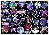 Stickers Pack Galaxy, Космические #82, фото 1