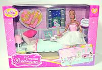 Лялька типу Барбі Anlily з вихованцем,ліжко,лампа,взуття,аксесуари
