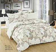 Ткань для постельного белья Поплин 2408 (A+B) - (80м+80м)