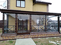 Утепление веранды мягкими окнами ПВХ