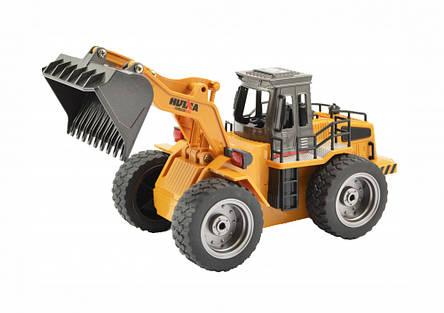 Бульдозер игрушка на радио управлении 1:18, 6 функций, фото 2