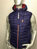 Мужская спортивная жилетка Nike копия, жилетка осенняя Найк