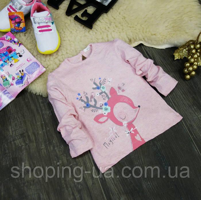 Кофточка розовая Олененок KD0079-92р