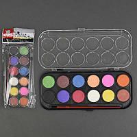 Краски для рисования 555-527 12 цветов