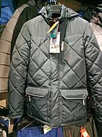 Мужская зимняя куртка Nike стеганая из плащевки копия