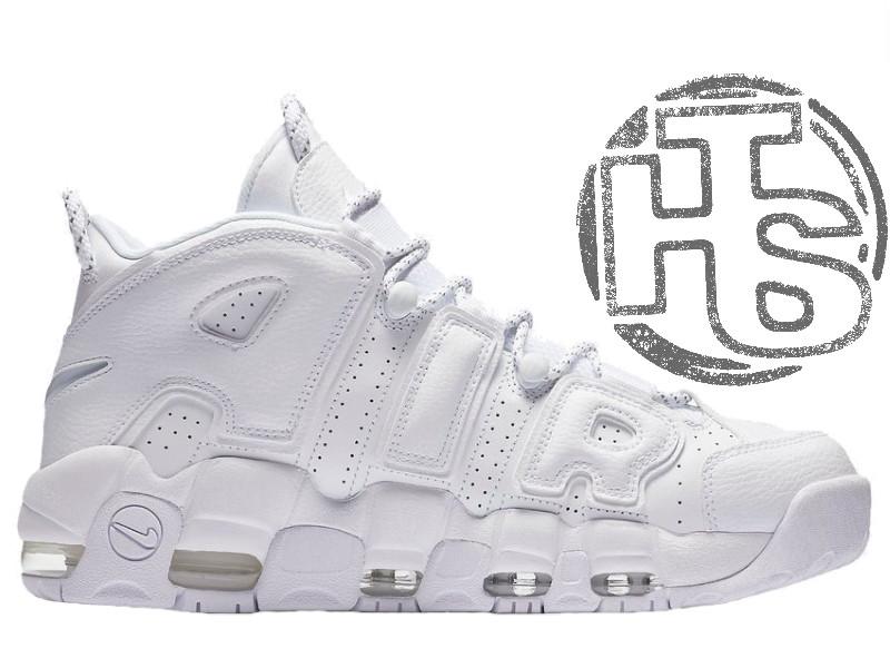 b35671ae Мужские кроссовки Nike Air More Uptempo 96 Triple White 921948-100 -  Интернет-магазин