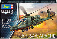 Вертолет AH-64A Apache, 1:100, Revell
