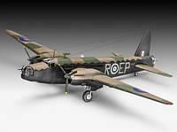 Двухмоторный бомбардировщик Vickers Wellington Mk.II, 1:72, Revell