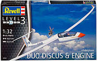 Самолет Gliderplane Duo Discus & engine, 1:32, Revell