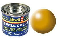 Краска № 310 желтая-Люфтганза шелковисто-матовая yellow silk 14ml, Revell