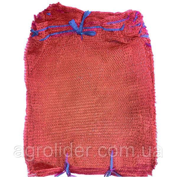 Сетка-мешок овощная 42х63 (до 24 кг) Красная