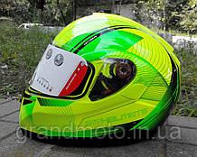 Мотошолом MT Helmets Optimus Spirit gloss-yellow-green