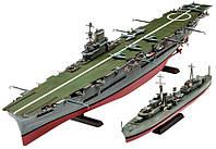 Корабли HMS Ark Royal и Tribal Class Destroyer, 1:720, Revell