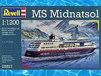 Круизный лайнер MS Midnatsol (Hurtigruten); 1:1200, Revell