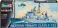 Фрегат German Frigate class F122, 1:300, Revell