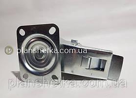 "Колесо поворотное  с тормозом и площадкой 160х60 - 20 мм  ""Ekonom"", фото 2"