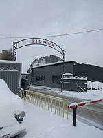 Промышленная штора из ПВХ материала для павильона киностудии