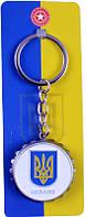 Брелок  Герб  Украины Трезубец