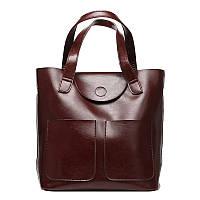 Кожаная женская сумка S.J.D. 7203J
