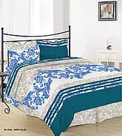 Комплект постельного белья семейный 20-1034 GREY BLUE