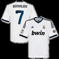 Детская футбольная форма  Реал (Мадрид) №7 Роналдо, фото 1