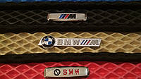 Шильдик, логотип BMW - M для автомобильного ковра